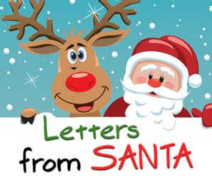 Write A Letter To Santa - High Country Lights